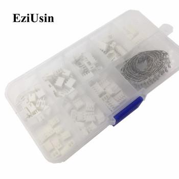 230 sztuk PH2 0 2p 3p 4p 5 pin 2 0mm Pitch Terminal Kit obudowa głowica pinowa JST przewód przyłączeniowy adapter PH zestawy do drukarki 3D tanie i dobre opinie EZIUSIN connector