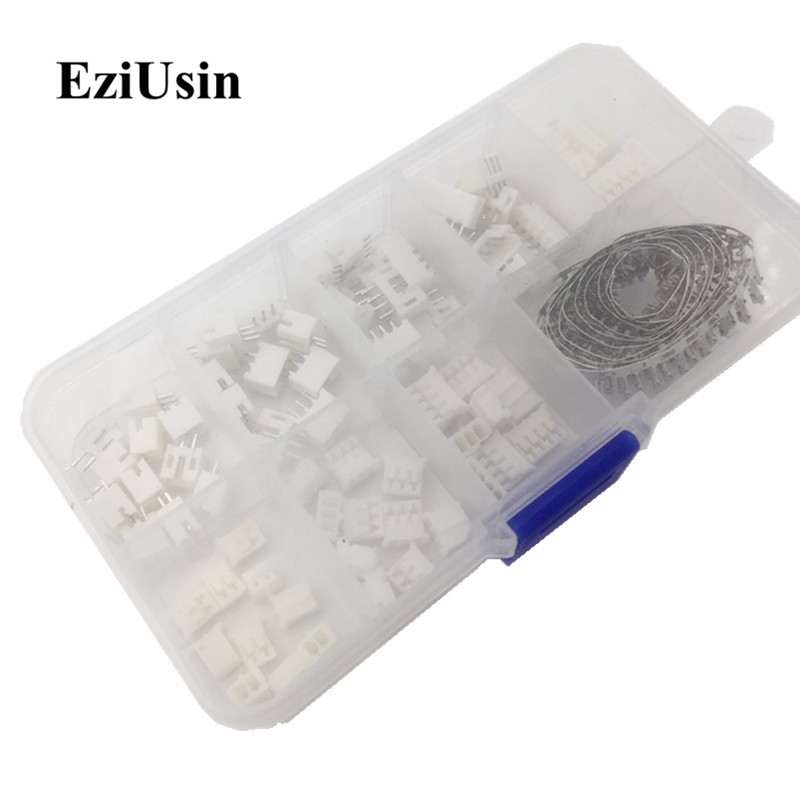 230pcs PH2.0 2p 3p 4p 5 pin 2.0mm Pitch Terminal Kit / Housing / Pin Header JST Connector Wire Connectors Adaptor PH Kits 60 sets kit 2p 3p 4pin right angle 2 54mm pitch terminal housing pin header connector wire connectors adaptor xh kits in box
