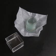 35 мм 40 мм Круглый микроскоп предметное стекло крышка слипы прозрачные пластины coversгуб толщина 0,13-0,17 мм 1 коробка 100 шт