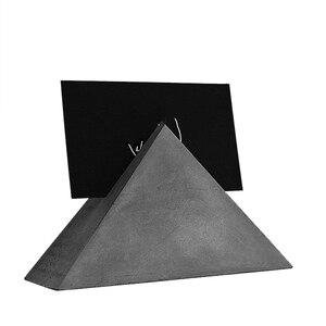 Визитница силиконовые бетонные формы цементный, глиняный пресс-формы для украшения стола, картонный ящик, штукатурка, ремесло