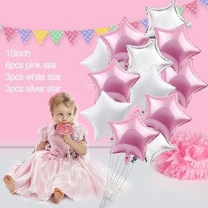 Image 5 - FENGRISE Ballons 1st Geburtstag Ballon Air 2nd Eine 1 2 Jahr Alt Erste Geburtstag Party Decor Latex Ballon Kinder Favor baby Dusche