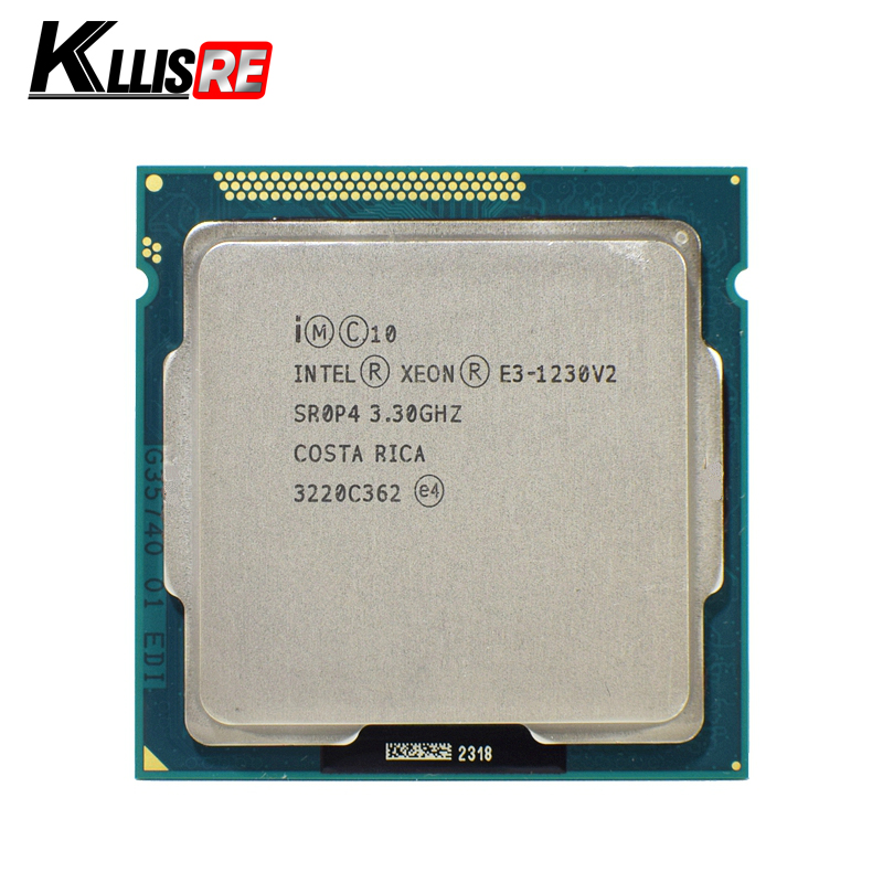 Intel Xeon E3 1230 V2 3.3GHz SR0P4 8M Quad Core LGA 1155 CPU E3 1230 V2 Processor cpu-in CPUs from Computer & Office