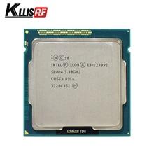 Intel Xeon E3 1230 V2 3.3GHz SR0P4 8M Quad Core LGA 1155 מעבד E3 1230V2 מעבד מעבד