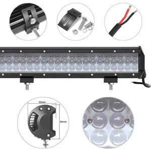 Image 4 - 4D Projector Lens Niva 4x4 Offroad Led Light Bar For Spot Beam Car Truck Tractors Motorcycle Boat ATV SUV Work Lights Spotlights