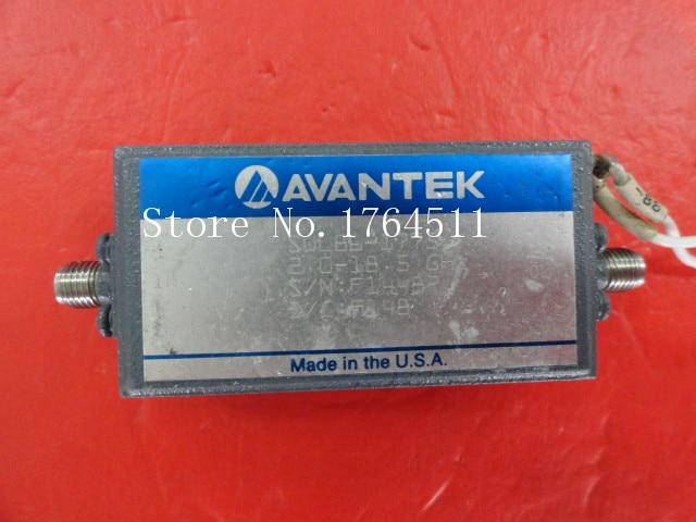 [BELLA] AVANTEK SWL86-1775 2-18.5GHz 12V SMA Supply Amplifier