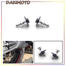 цена на for YAMAHA MT09 MT 09 MT-09 2014 2015 2016 Motorcycle 6mm CNC aluminum Swingarm Wingarm Spools Slider Stand Screws