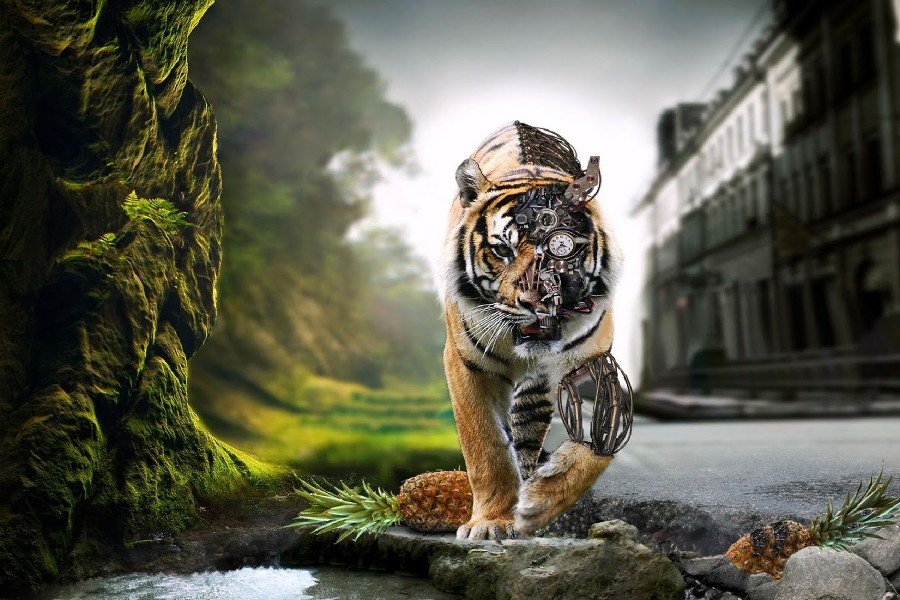 Online Obtener barato Robot Tigre Aliexpresscom  Grupo Alibaba
