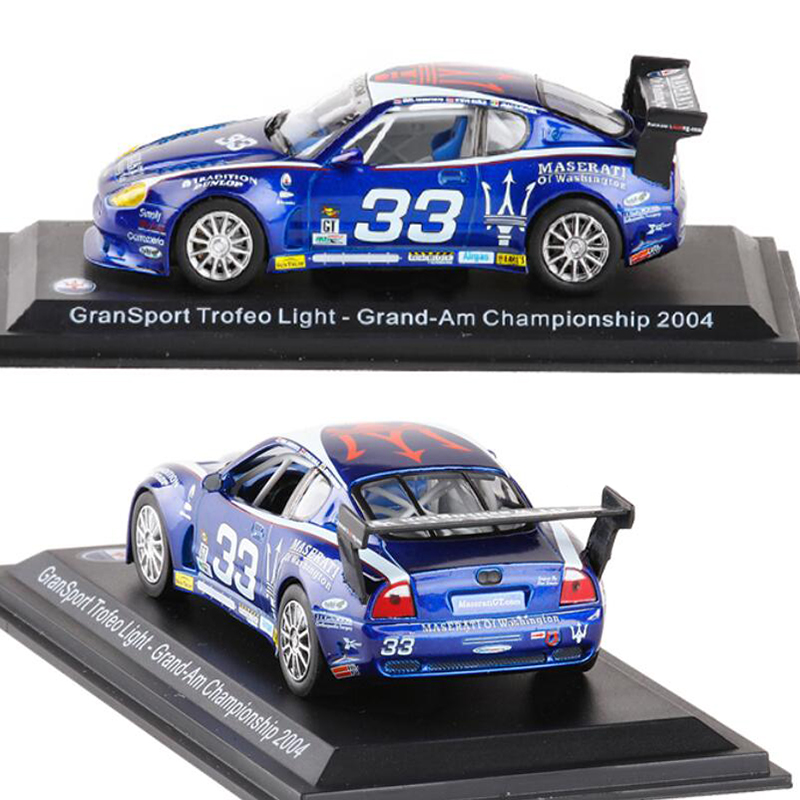 1 43 Scale Metal Alloy Classic Maserati Racing Rally Car Model Diecast Vehicles Toys For Collection Display For Kids Gifts in Diecasts Toy Vehicles from Toys Hobbies