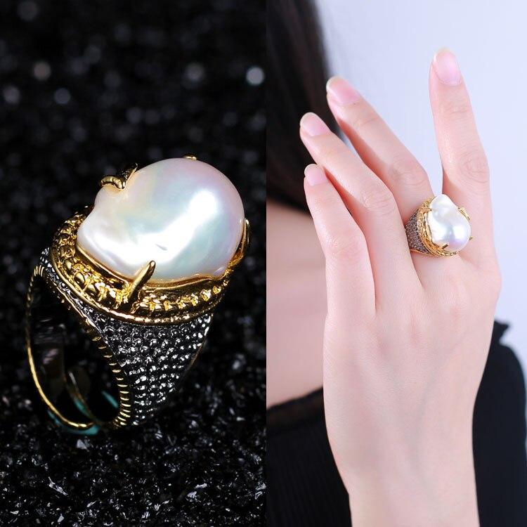S925 черное кольцо jewelry аксессуары private оптовая продажа Jewelry подарки настроены высокого класса Серебряный Восстановление древних способов