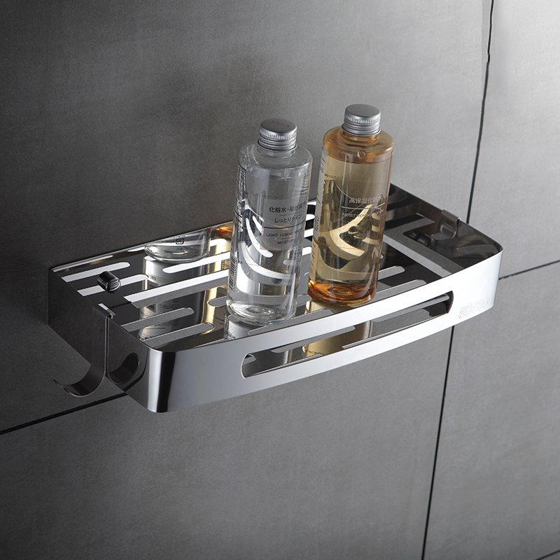 COROTO Stainless Steel Bathroom Shelf 1 Tier Shower Shelf Bath ...