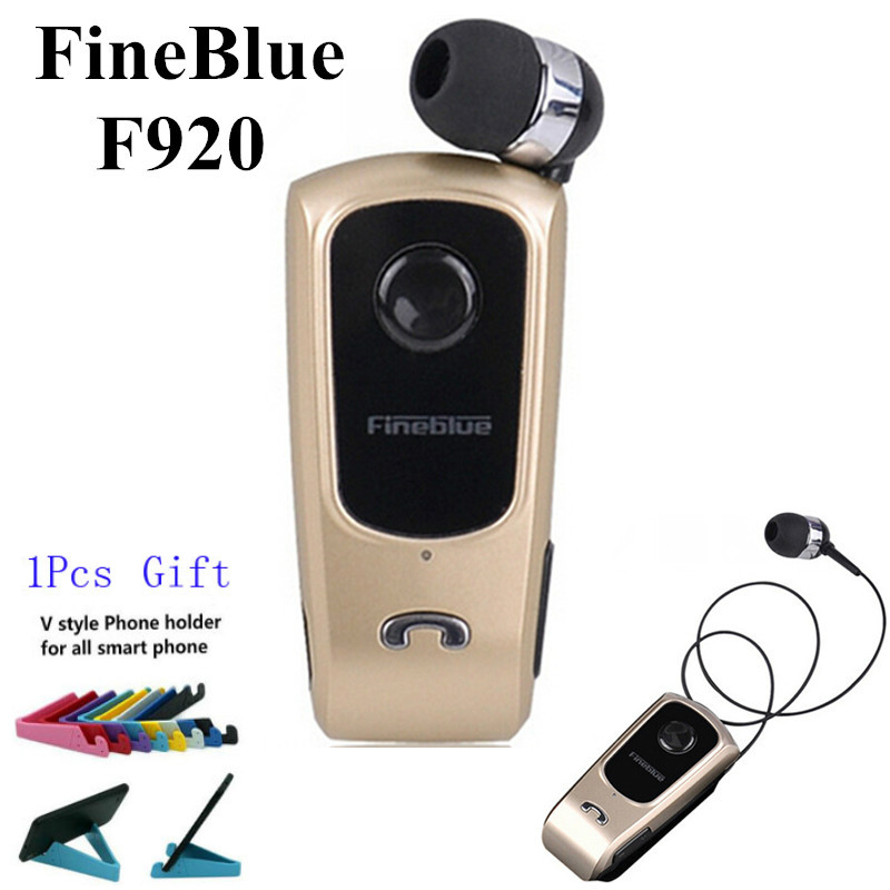 Original FineBlue F920 Wireless Auriculares Driver Bluetooth Earphone Call Remind <font><b>Vibration</b></font> Wear Clip Headset Sport Running Fone