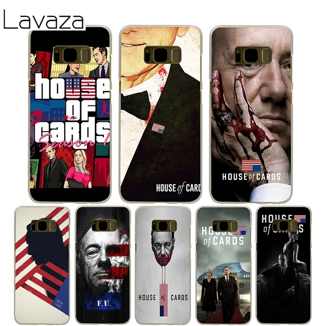 Lavaza House Of Cards Cover Case For Samsung Galaxy S7 Edge S6 S8 S9