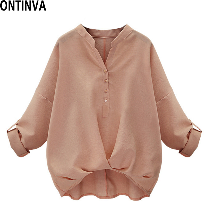 Dolman-Sleeve Tops Women Pink Ladies Blouse White Womens Blouses Office Shirts Summer 2020 Casual Loose Shirt Femme