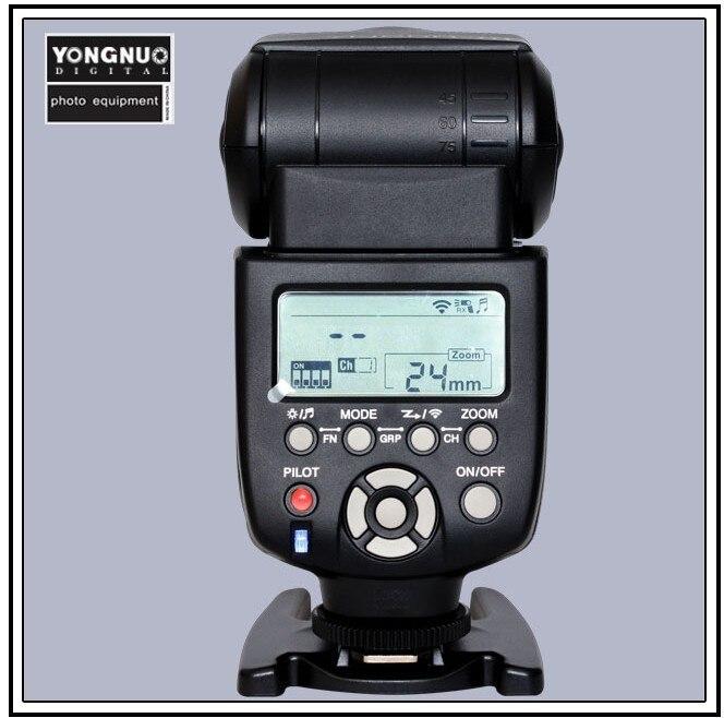 Yongnuo YN-560 III 2.4G Wireless Flash Speedlite Speedlight for Canon Nikon Pentax Olympus DSLR Cameras YN-560III Free Shipping 560 136x16 g