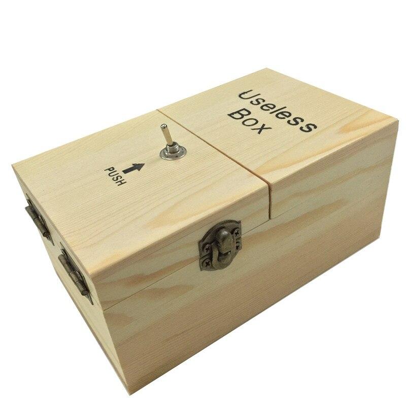 抗ストレス無駄ボックス木製電子無駄ボックス面白いおもちゃデスク装飾トリッキーなおもちゃノベルティおもちゃボックス