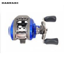 DASNAKI YLT100 10+1BB Left or Right Bait Casting Fishing Reel 6.3:1 Fresh/Salt Water Baitcasting Fishing Reel Lure Fishing Reel