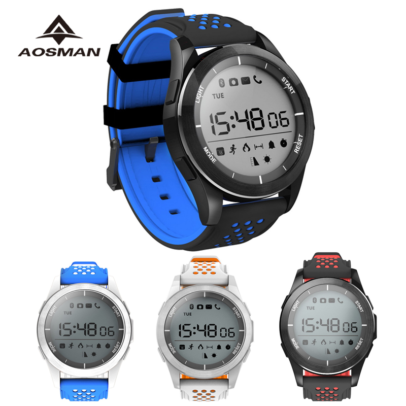 AOSMAN Sport Smart Barometer Watch man clock altimeter ...