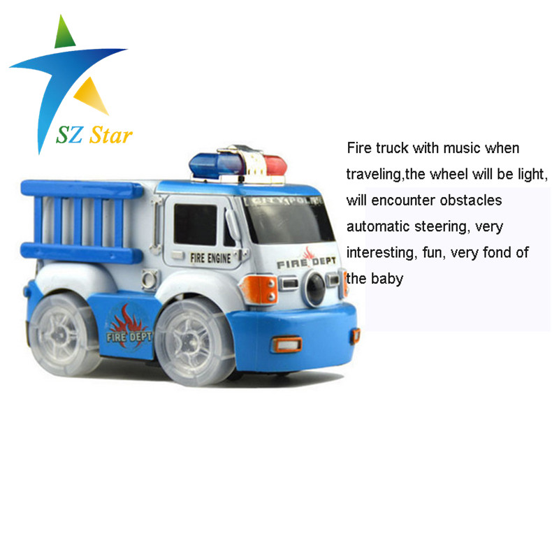 electric fire truck urban rescue team lighting universal car toy music toy for kids children baby automatic steering free ship-in Diecasts u0026 Toy Vehicles ...  sc 1 st  AliExpress.com & electric fire truck urban rescue team lighting universal car toy ... azcodes.com
