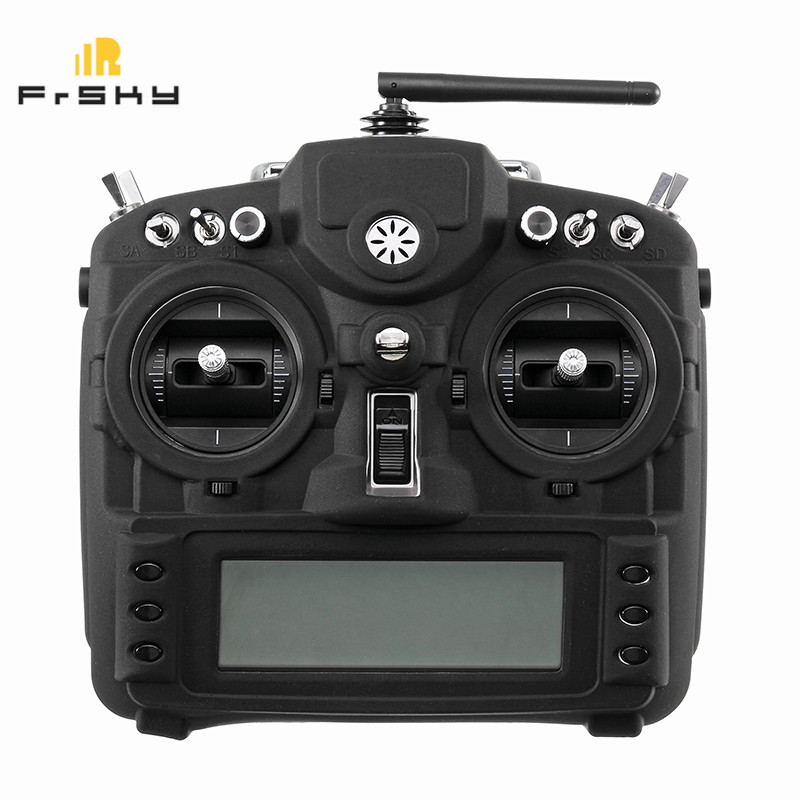 Frsky X9D Plus Transmitter Silicone Protective Case Cover Shell Remote Control Protector Anti-Broke Black White RC Model Toys