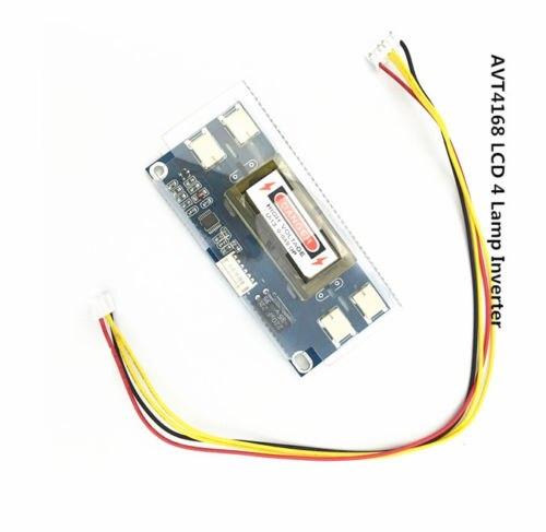 4 Lamp Backlight Universal Laptop LCD CCFL Inverter 10-30V For 15