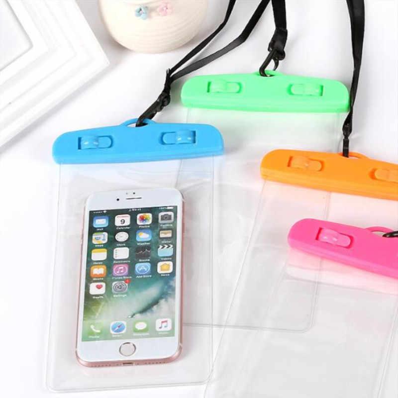 シール防水電話ストラップ保護袋ドライポーチ保護ケースカバー 3.5 インチの 6 インチのスマートフォンスイミングバッグ