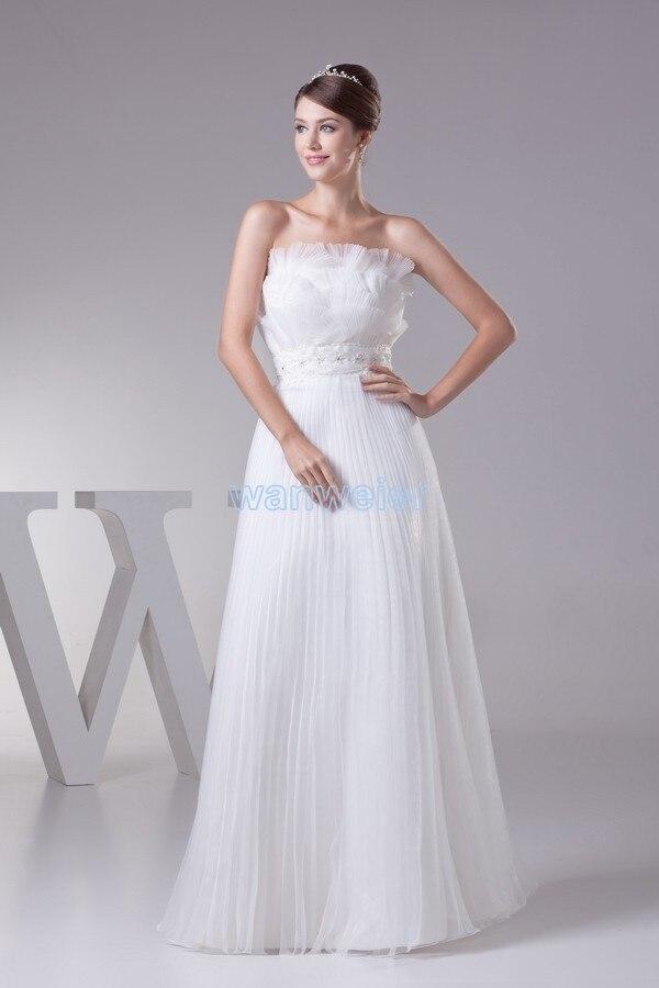 Livraison gratuite 2016 nouveau design de mode grand coup sari solano # sw005 mariée longue custommade taille/couleur blanc/ivoire robes de mariée
