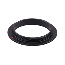 49 52 55 58 62 67 72 77mm Macro Reverse Lens Adapter Ring for Canon Cam