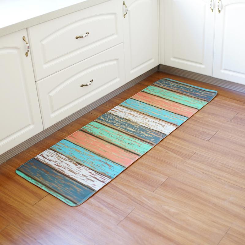 Water Absorption Rug Bathroom Mat Polyester Bath Mat Set ...