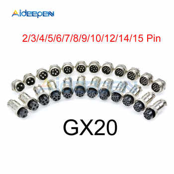 100set GX20 Aviation Connector Male Plug Female Socket Circular Connector 4 Pin Wire Panel Connector - DISCOUNT ITEM  15% OFF All Category