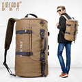 High quality Multi-function canvas backpack Men's Retro Shoulder Bag Leisure High capacity fashion Travel bags Free shipping
