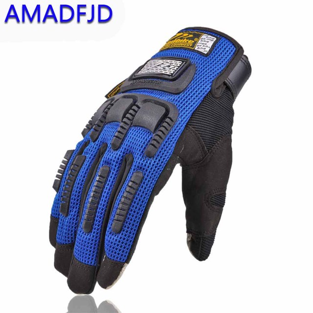 touch screen rubber casing motorcycle gloves outdoor wind and cold  Anti-fall racing glove motocross Protective equipment