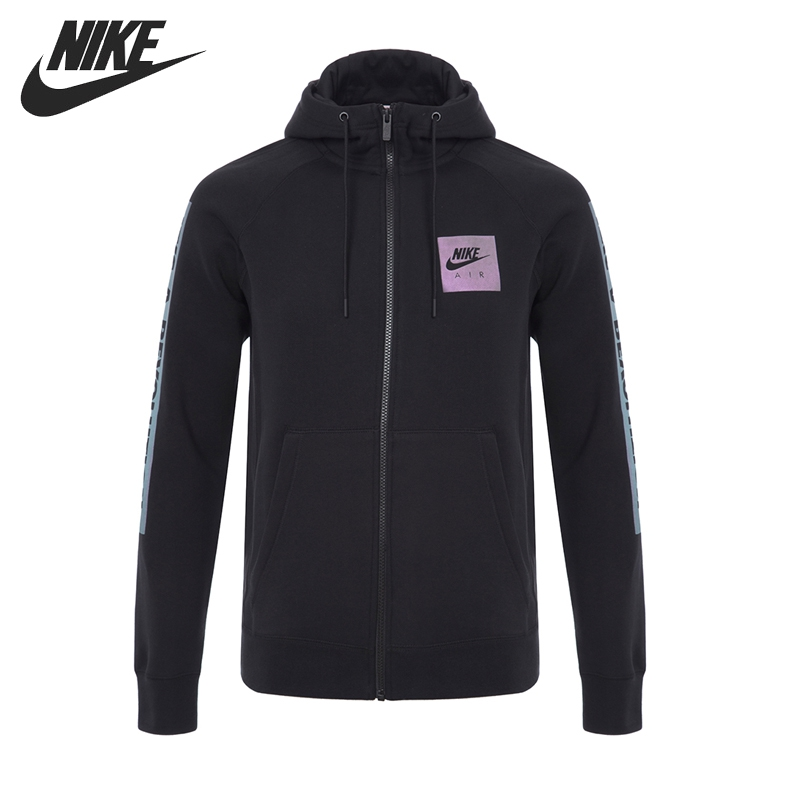 Original New Arrival 2017 NIKE AS M NSW HOODIE FZ FLC AIR HR Men's Jacket Hooded Sportswear original new arrival 2017 nike as w nsw crw flc jdi women s pullover jerseys sportswear