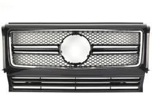 For Mercedes-Benz G-class W463 G500 G63 G65 G800 1990-2018 with Emblem SL Style Front Racing Grille