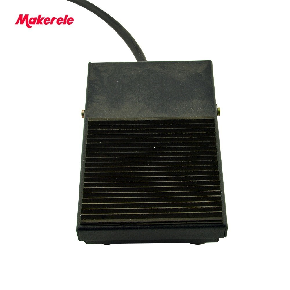 Rubber Metal Momentary Power Foot Switch MKYDT1-1F factory Direct Price SPDT NO/NC Nonslip  Pedal Foot switch from china factory hot sale lt4 202h factory price cheap ce newest latest metal double pedal foot switch for bending machine punch