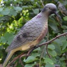 GUGULUZA охотничий голубь пугает защиты садовая приманка в виде голубя бионическая приманка для животных для охоты на открытом воздухе аксессуар приманка для птиц