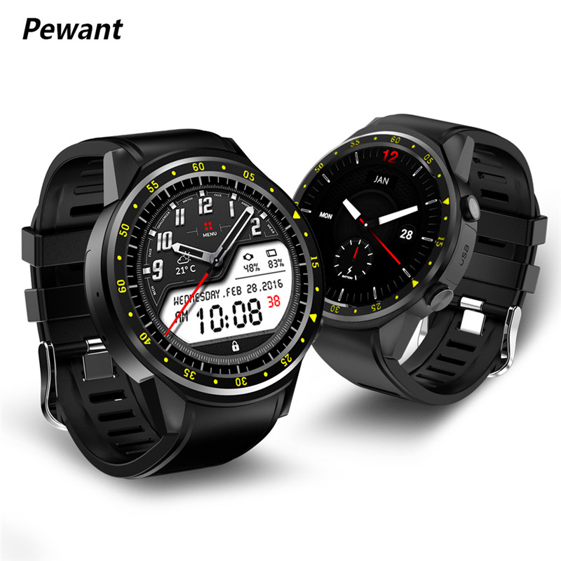 цена Pewant GPS Smart Watch With Camera MTK2503 Support SIM Card Smart-watch Heart Rate Monitor Smartwatch For iOS Android Clock онлайн в 2017 году