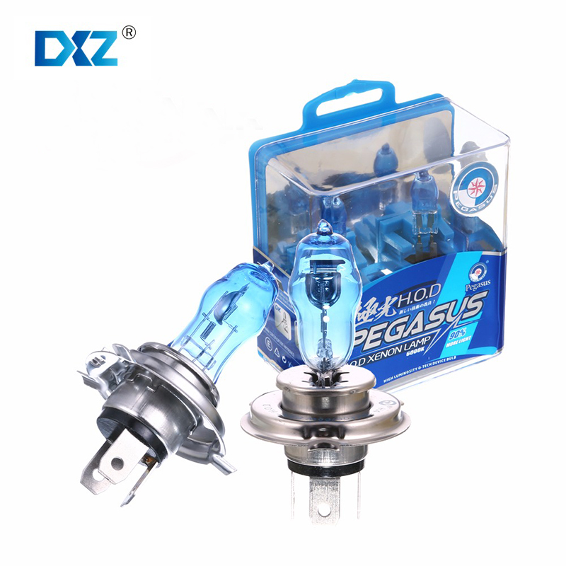 H4 100W DC 12V HOD Xenon White 6000k Halogen Car Head Light Globes Bulbs font b