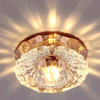 3W 5W High Quality Creative Crystal Ceiling Lamp LED Corridor Light Hallway Lamps For Bedroom Living