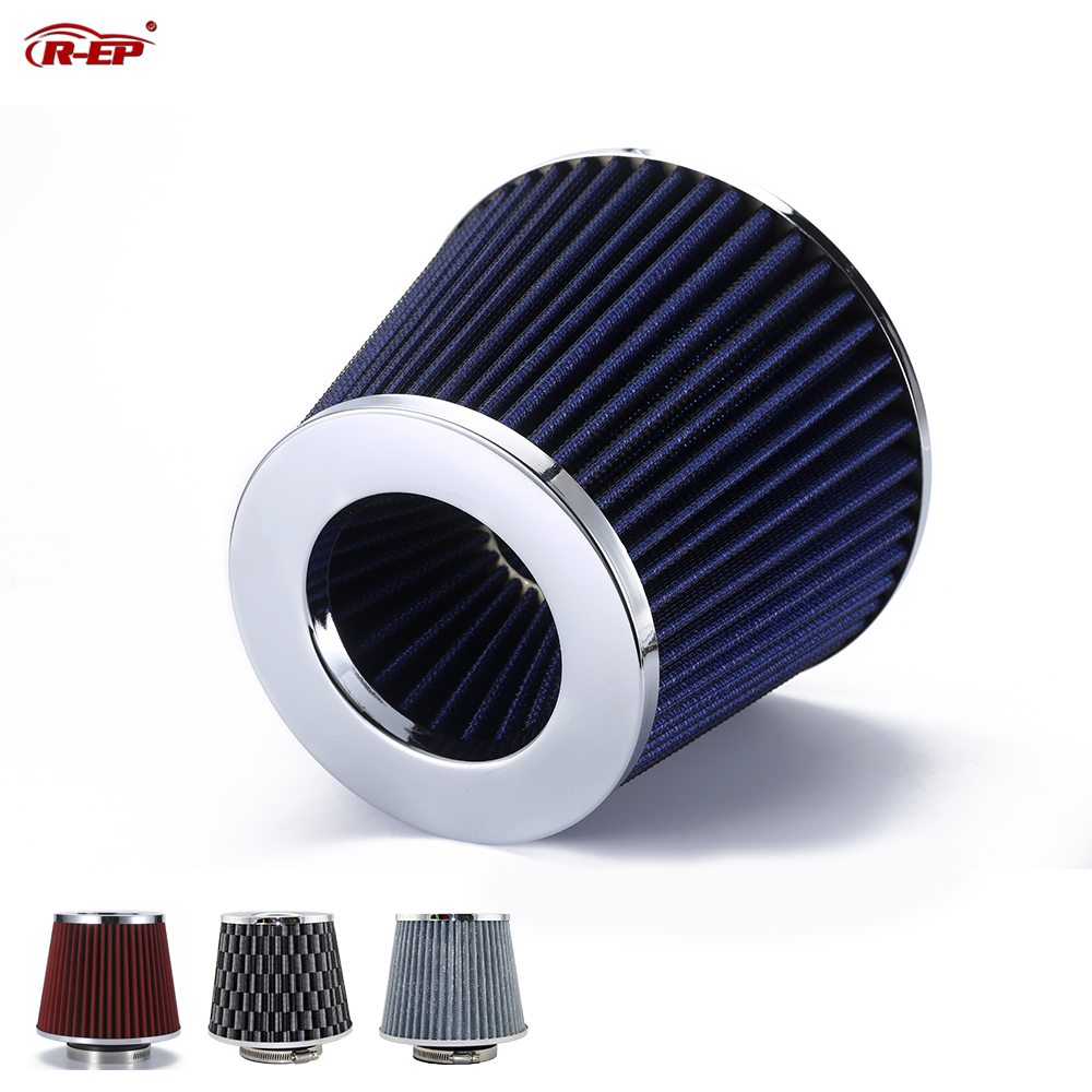 R EP Car Universal Air Filter 2 5 2 75 3inch for Cold Air Intake High