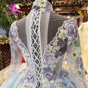 Image 3 - AIJINGYU فستان زفاف الدانتيل امرأة المشاركة الفاخرة خمر رخيصة صنع في الصين حجم كبير ثوب 2021 مواقع الزفاف