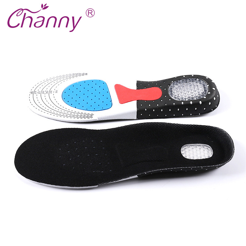 Channy Foot Patch Unisex Orthotic Arch Support Sport Shoe Pad Sport Running Gel Insoles Insert Cushion Men Women Health Care