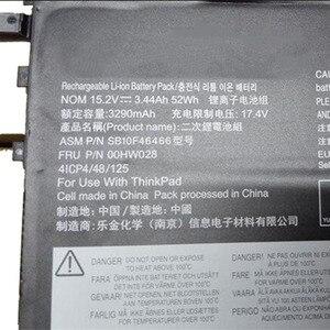 Image 5 - GZSM laptop battery 01AV409 for LENOVO X1C 01AV410 battery for laptop 01AV438 01AV439 01AV441 SB10K97567 SB10K97566 battery