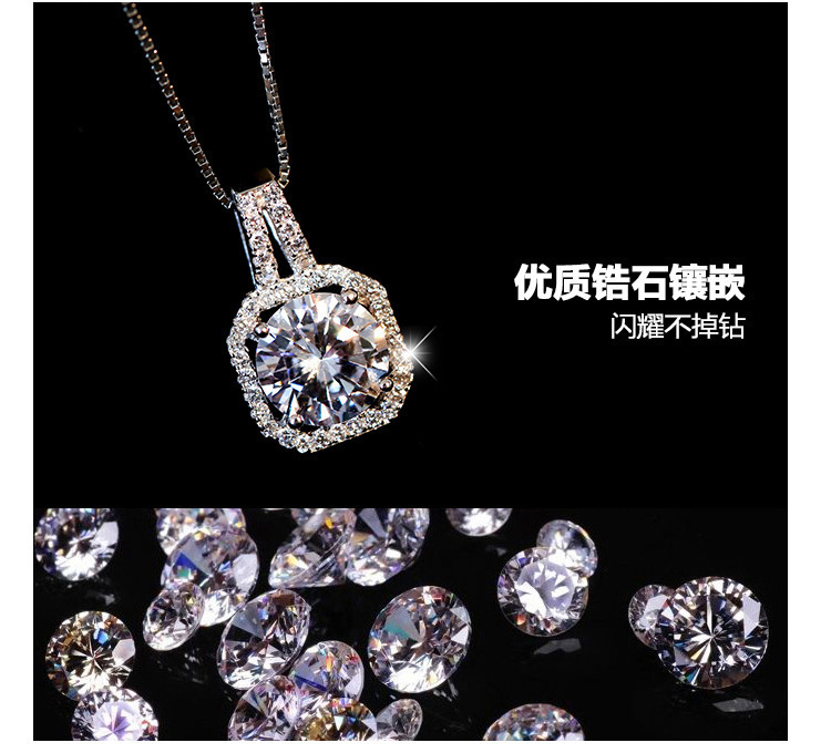 European And American Fashion Jewelry Crystals From Swarovskis Mona Lisa Zircon Necklaces Color Zircon Women Christmas Party