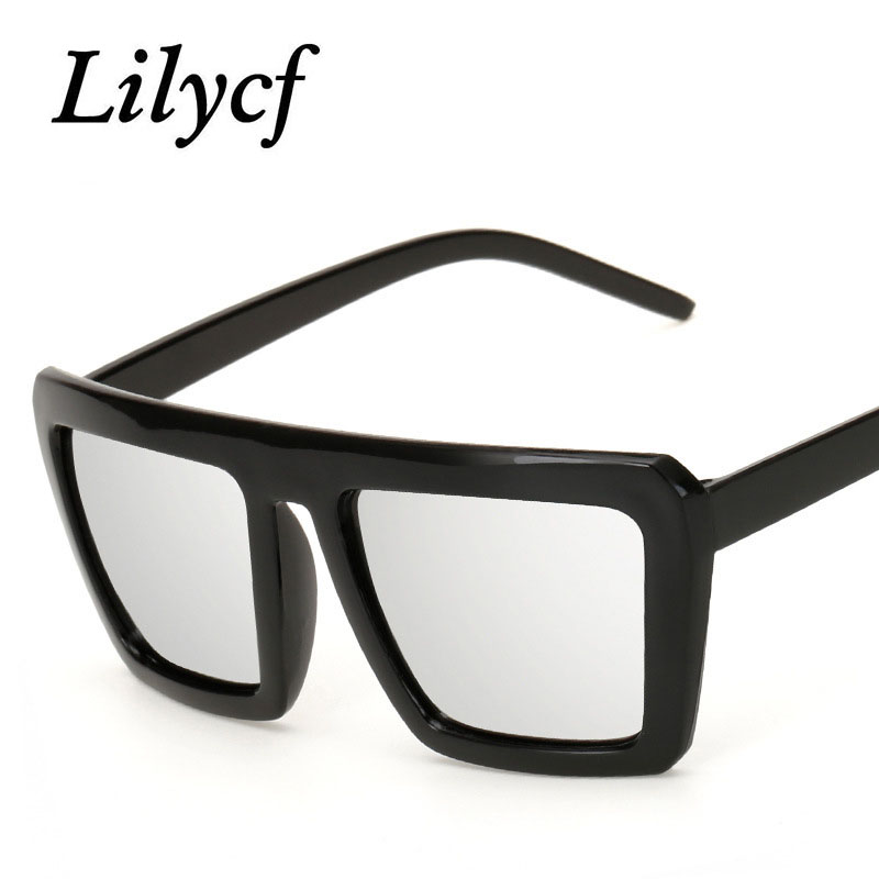 2019 Personality Square Sunglasses Fashion Popular Retro Men's Glasses Women's Brand Designer High Quality Sunglasses UV400