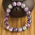 Pulseiras Femininas Braceletes  Brand Sale Handmade Elastics Rope Colorful Rain Stone Charm Bracelet Free Shipping