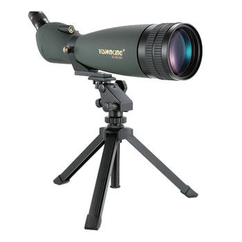 Visionking 30-90 #215 90 szeroki kąt Spotting Scope HD BAK4 polowanie obserwacja ptaków monokularowy teleskop 90x przewodnik zakres ze statywem tanie i dobre opinie VS30-90x90 Fully Multi-Coated