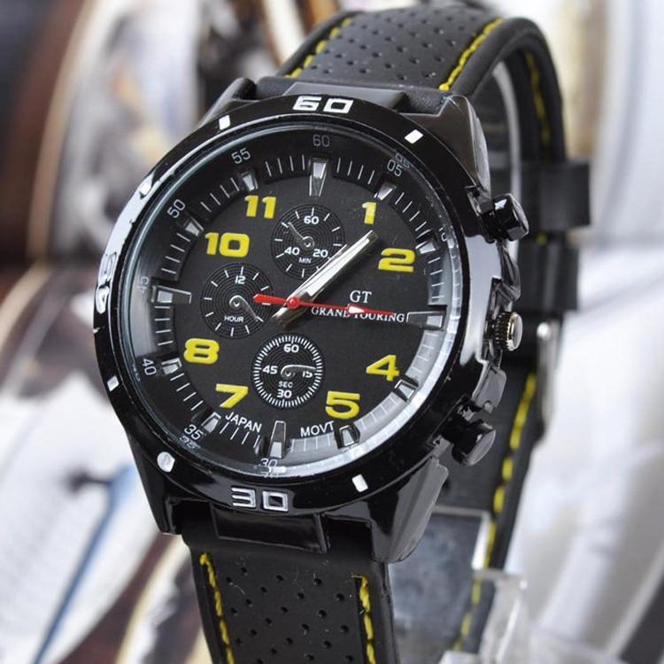 fca0a6d5726 2019 Marca de Luxo dos homens Relógios Analógico Relógio de Pulso de clock  Horas de Aço Inoxidável Relógio de Quartzo Moda Casual Esportes Relogio  masculino