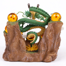 NEW HOT!!! Dragon Ball Z The Dragon Shenron + Tree Stump Stand + 7 Crystal Balls PVC Figures Collectible Model Toys