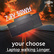 HSW laptop battery for APPLE MacBook Air Core i7 1.8 13 (A1369 Mid-2011) A1405 A1466 2012