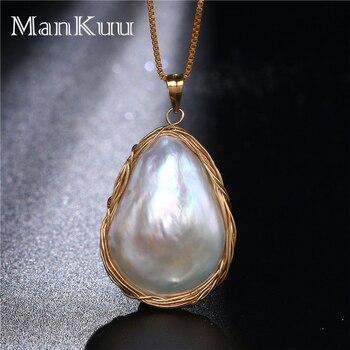 1954c9f6f19a 2019 nueva moda de agua dulce Natural de la par de pulsera de las mujeres  negro perla pulsera 925 joyas de plata